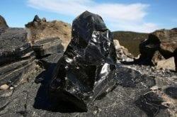 Obsidian Rock Flows