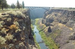 Crooked River Gorge, Oregon