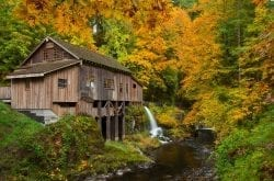 Cedar Creek Grist Mill in Woodland WA