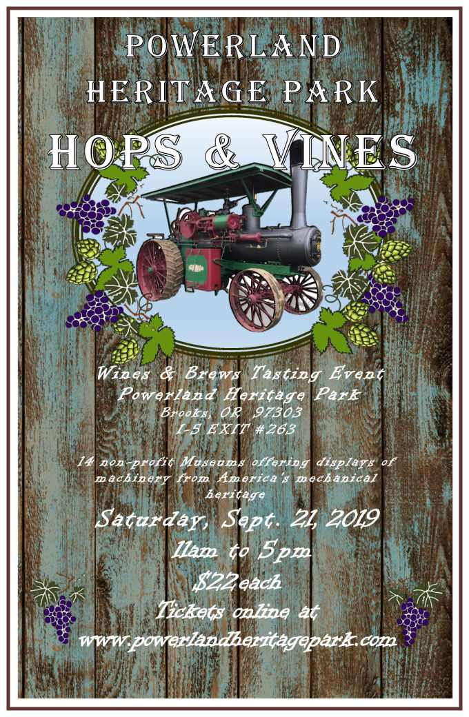 hops and vines antique powerland museum