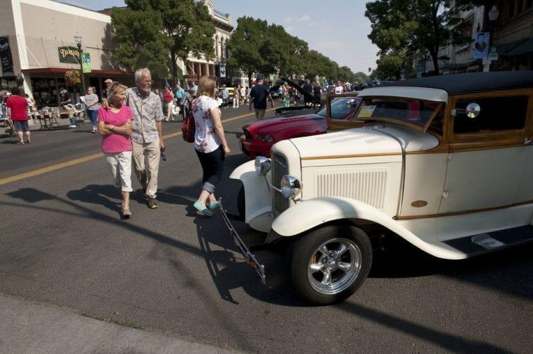 walla walls wheeling weekend car show