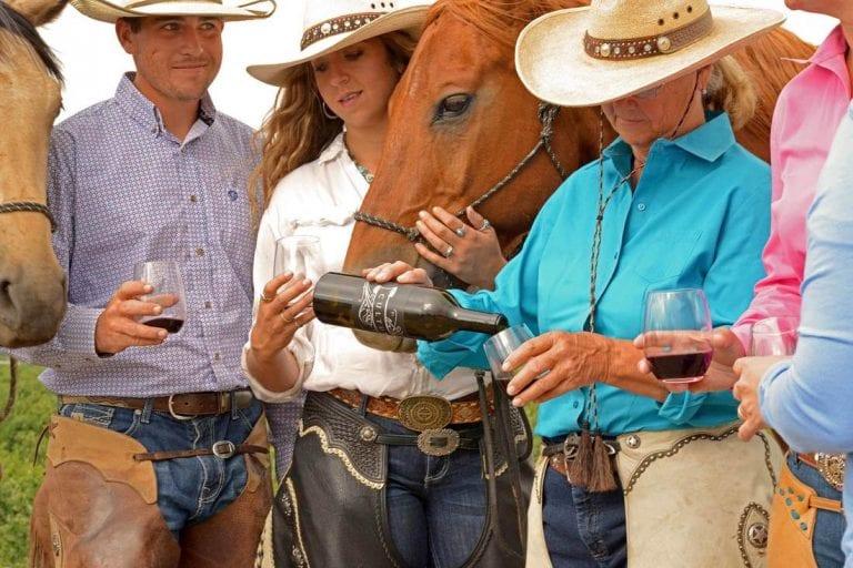 wine tasting cowboy style cherrywood bed breakfast