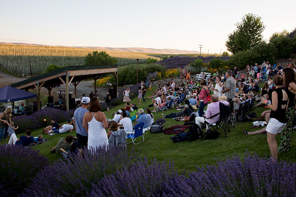 music in the vine concert gilbert cellars winery yakima washington