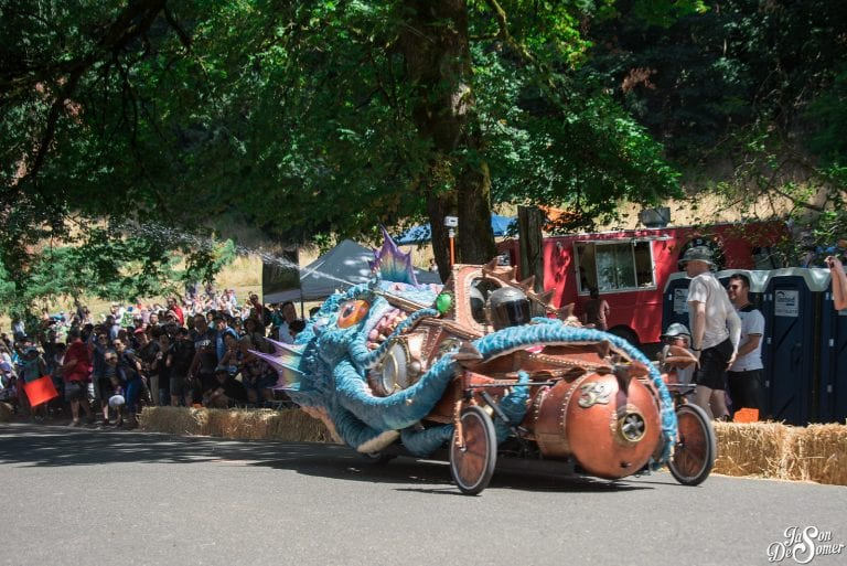 Portland adult soap box derby race mt tabor park