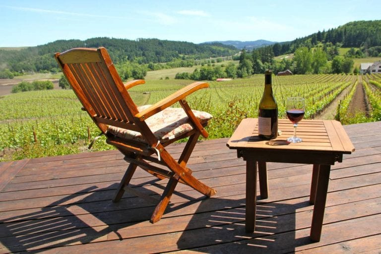 Oregon wine country vacation rental in Gaston Oregon