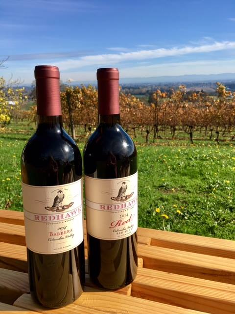 Redhawk Winery, Salem OR