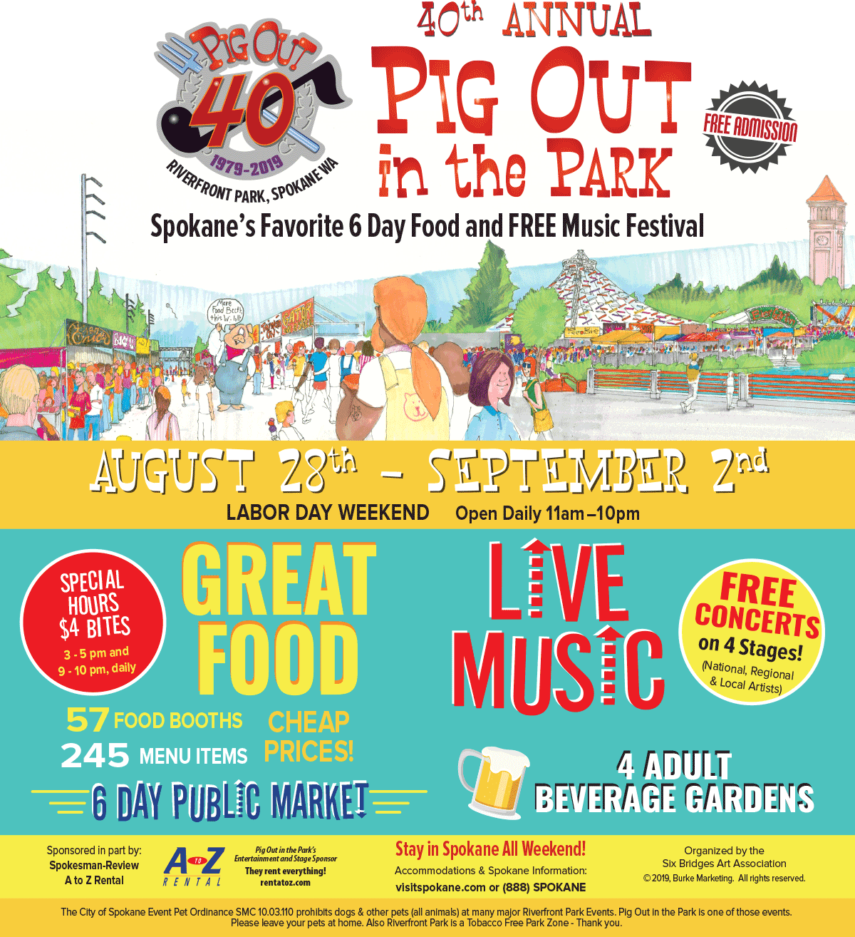Spokane Pig out in the park