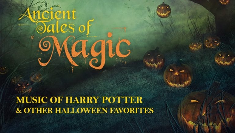 Spokane Symphony Halloween concert the music of Harry Potter