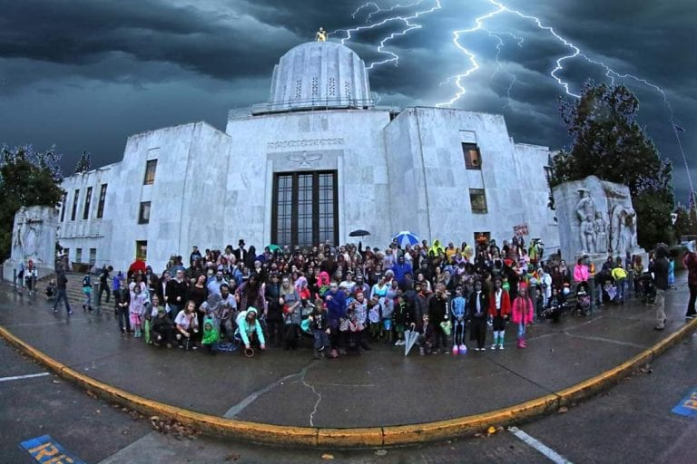 Salem Oregon Zombie Walk Halloween 2019