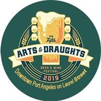 Port Angeles WA Arts and Draughts beer and wine festival