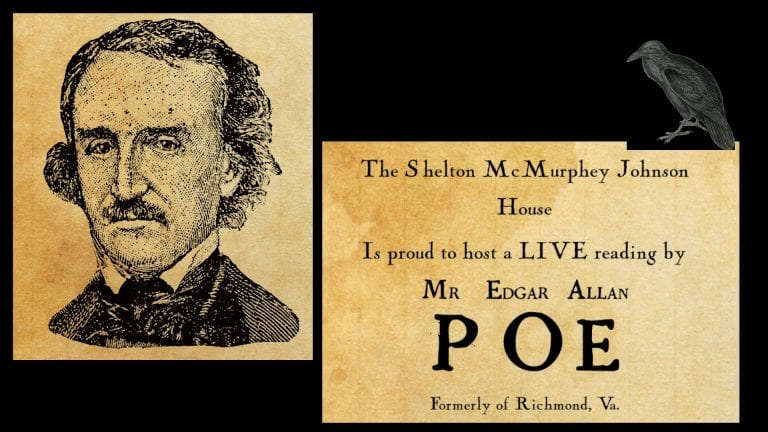 Edgar Allen Poe Halloween reading eugene Oregon