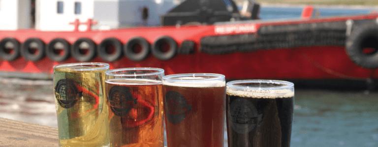 Bier on the Pier in Anacortes WA