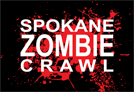 spokane wa zombie crawl