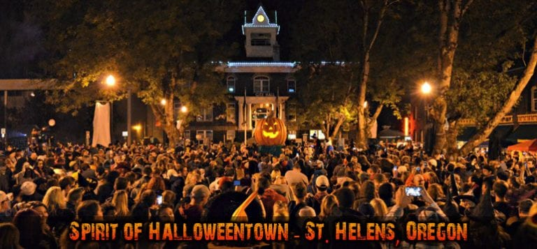 Hallowentown St Helens Oregon