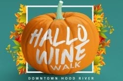 Hallowine Walk Hood River Oregon