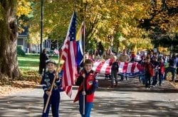 Fort Vancouver City of Vancouver Veterans Day Parade