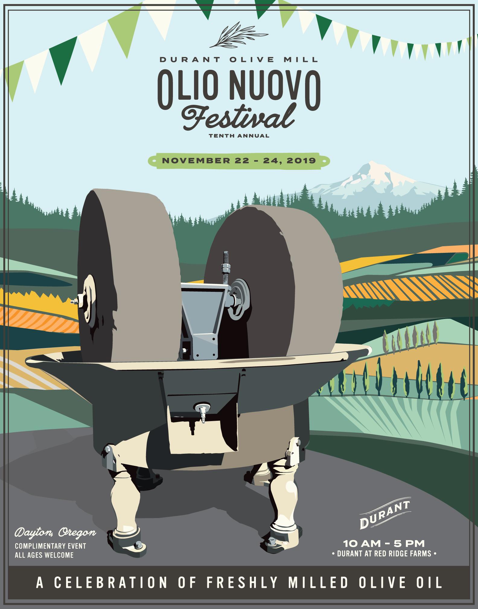 Olio Nuevo Festival Dayton Oregon