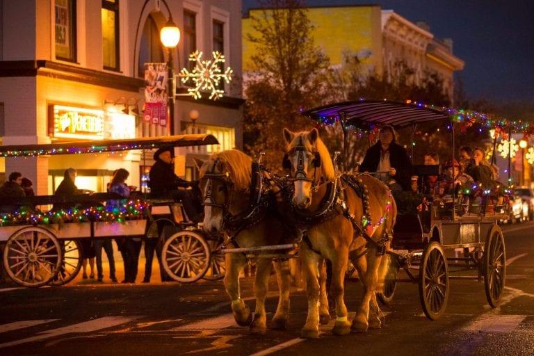 Albany oregon historic homes christmas tour