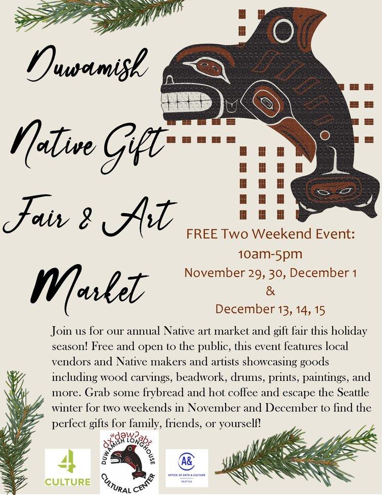 Duwamish Holiday Art Market