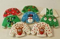 Oak Knoll Winery Hillsboro Oregon ugly christmas sweater cookie contest
