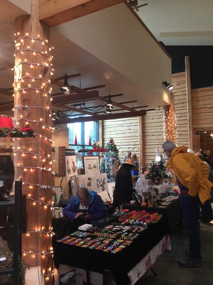 Duwamish Tribe Art holiday market  Seattle