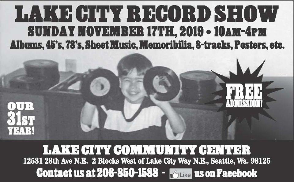Lake City Record Show, Seattle