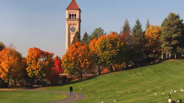 Photo of the Week: Spokane's Riverfront Park