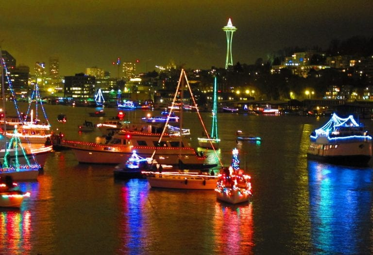 Memorable Christmas Boat Parades Around the Pacific Northwest