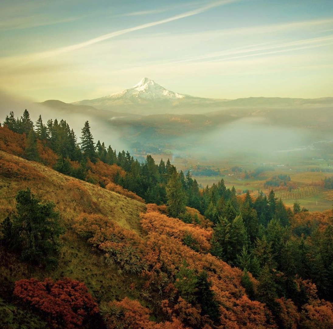Mt Hood in Oregon photo by Cate Hotchkiss