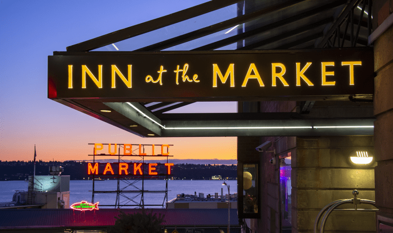 Seattle's Inn at the Market next to Pike Street Market