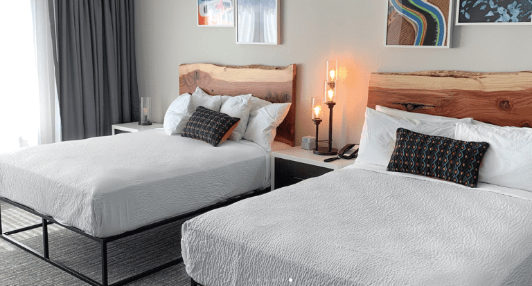 the Independence hotel in Oregon's Willamette Valley