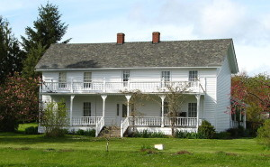 Brunk house pioneer farmstead salem oregon