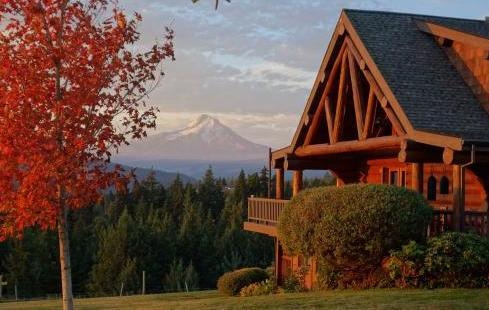 Sakura Ridge Bed and Breakfast Hood River Oregon