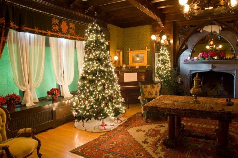 Spokane Campbell House Christmas