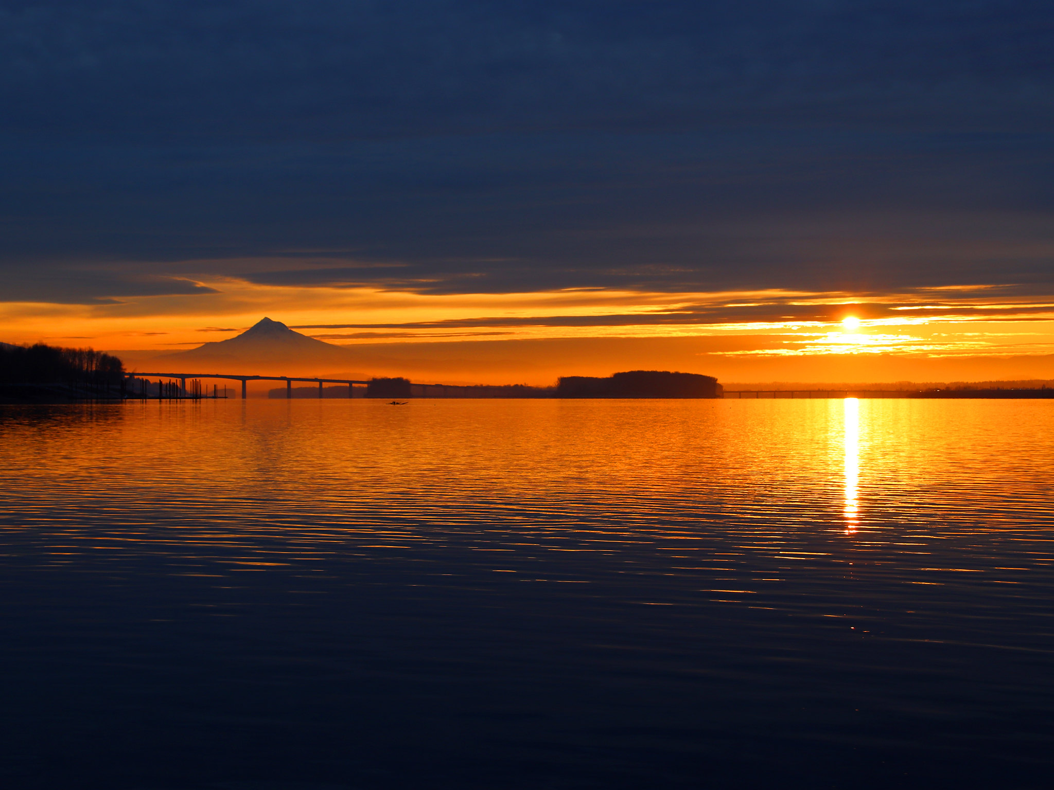 Photo of the week: A December Sunrise on the Columbia