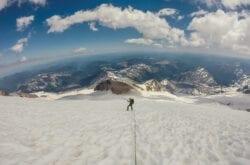 Photo of the week: atop Mt. Rainier