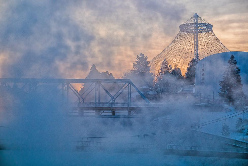 Photo of the week: Spokane's Riverfront Park Pavilion