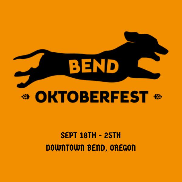 Downtown Bend Oregon Oktoberfest festival