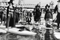witch paddle halloween oregon