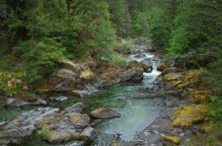 Quartzville Creek, Oregon