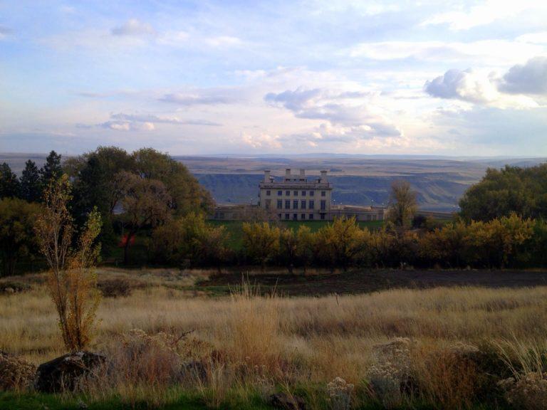 Maryhill Museum of Art in November